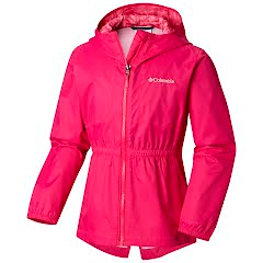 Columbia Youth Girl's Dollia Rain Jacket Image