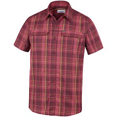 Columbia Men's Silver Ridge 2.0 Multi Plaid Short Sleeve Shirt Image