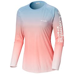Columbia Women's PFG Tidal Deflector Long Sleeve Shirt Image