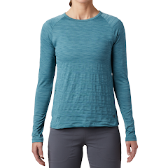 Mountain Hardwear Women's Mighty Stripe Long Sleeve Tee Image