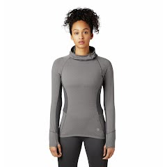 Mountain Hardwear Women's Ghee Long Sleeve Hoody Image