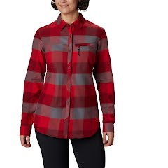 Columbia Women's Anytime II Stretch Long Sleeve Shirt Image