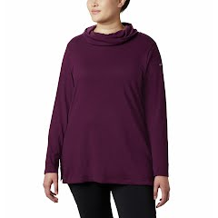 Columbia Women's Canyon Point Cowl Neck Shirt (Extended Sizes) Image
