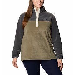 Columbia Women's Benton Springs Half Snap Pullover (Extended Sizes) Image