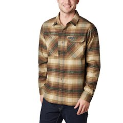 Columbia Men's Outdoor Elements Stretch Flannel Image