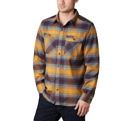 Columbia Men's Outdoor Elements Stretch Flannel Shirt (Extended Sizes) Image