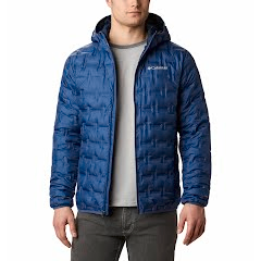 Columbia Men's Delta Ridge Down Hooded Jacket Image