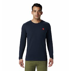Mountain Hardwear Men's Hardwear Logo Long Sleeve T-Shirt Image