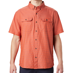 Mountain Hardwear Men's Crystal Valley Short Sleeve Shirt Image