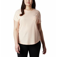 Columbia Women's Cades Cape Short Sleeve Tee (Extended Sizes) Image