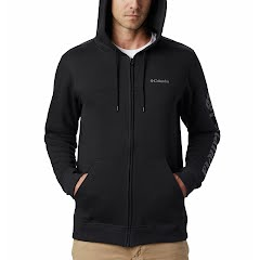Columbia Men's Columbia Logo Full Zip Fleece Hoodie Image