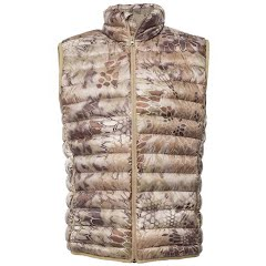 Kryptek Apparel Men's Cirius Down Vest (Extended Sizes) Image