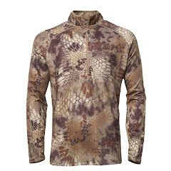 Kryptek Apparel Men's Cronos 1/2 Zip Jacket (Extended Sizes) Image