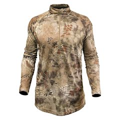 Kryptek Apparel Men's Hyperion Long Sleeve Zip (Extended Sizes) Image