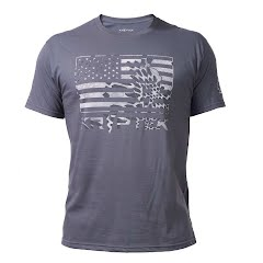 Kryptek Apparel Men's Flag Tee Image