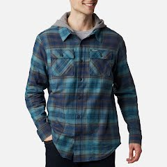Columbia Men's Flare Gun™ Stretch Flannel Hoodie Image