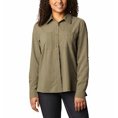 Columbia Women's Essential Elements™ Woven Long Sleeve Shirt Image