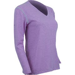 Polarmax Women's Advanced Cooling Insect Shield Micro H1 V-Neck Image