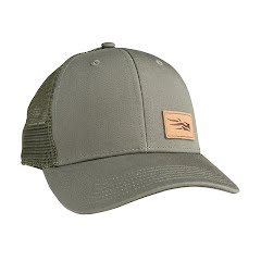 Sitka Gear Leather Logo Patch Trucker Image