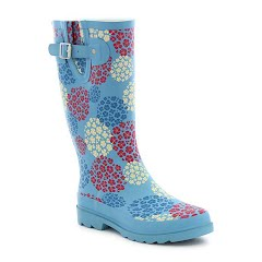 Western Chief Women's Hydrangea Blooms Rain Boot Image