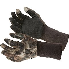 The Allen Co Vanish Camo Mesh Hunting Gloves Image
