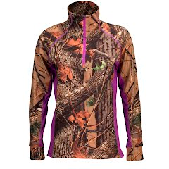 Trail Crest Women`s 4-Way Stretch 1/4 Zip Top Image