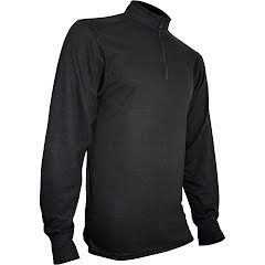 Polarmax Men's Montana Wool 2.0 Zip Mock Top Image