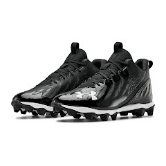 Under Armour Men's UA Spotlight Franchise RM Wide Football Cleats Image