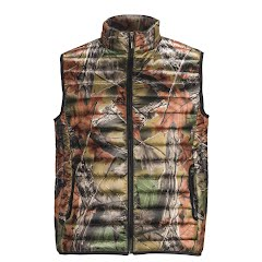 Trail Crest Men's Ultra Thurmic Silk Padded Quilted Vest Image