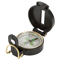 The Allen Co Lensatic Compass Image