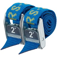 Nrs 1 Inch HD Tie-Down Straps (2 Feet, Pair) Image