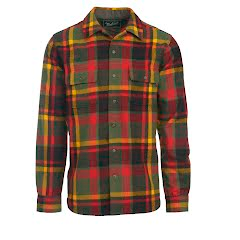 Woolrich Men`s Bering Wool Shirt: Modern Fit Image