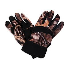 Hot Shot Men`s Talon Fleece Camouflage Glove Image