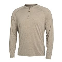 Sitka Gear Men's Hanger Work Henley Long Sleeve Image
