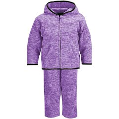 Trail Crest Youth Infant Heathered Chambliss Fleece Hoodie and Pants Set Image