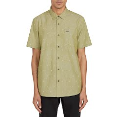 Volcom Men's Archive Mark Short Sleeve Shirt Image