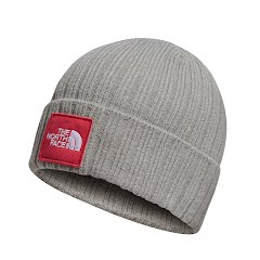 The North Face TNF Logo Boxed Cuffed Beanie Image
