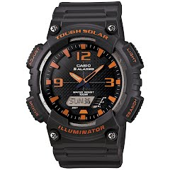 Casio Solar Power Analog/Digital Watch Image