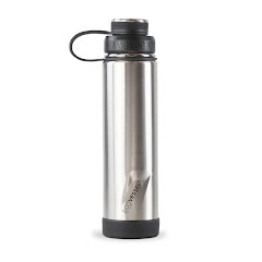 Eco Vessel Boulder TriMax Insulated Water Bottle with Strainer (24 oz) Image