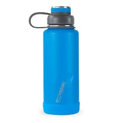 Eco Vessel The Boulder TriMax Insulated Water Bottle with Strainer (32 oz) Image