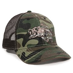 Outdoor Cap Americana Fishbone Trucker Cap Image