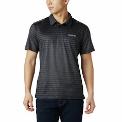Columbia Men's Tech Trail Print Polo Image