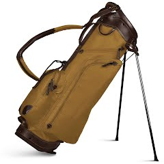 Sun Mountain Sports Waxed Canvas/Leather Stand Bag Image