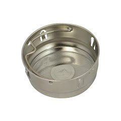 Eco Vessel Stainless Steel Tea, Fruit, Ice Strainer Image