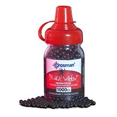 Crosman Black Widow Coated 4.5mm BBs (1000 Count) Image