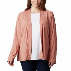 Columbia W Essential Elements Cardigan Plus Sizes Image