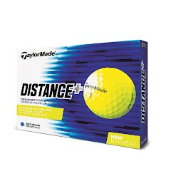 Taylor Made Distance+ Golf Ball 12 Pack Image