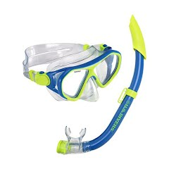 Us Divers Youth Dorado II Junior Mask and Seabreeze Junior Snorkel Combo Image