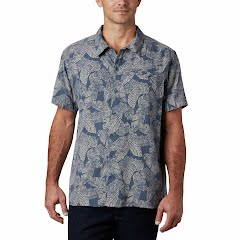 Columbia Men's Lakeside Trail Short Sleeve Shirt Image