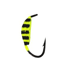 Eagle Claw Shrimpy Tungsten Wide Gap Ice Jig (1/32oz) Image